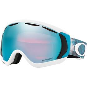 Oakley Canopy - Gafas de esquí - blanco/Turquesa